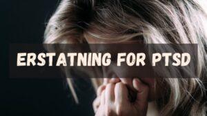 En utmattet kvinne som akkurat har fått påvist diagnosen PTSD