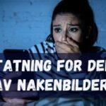 Erstatning for deling av nakenbilder