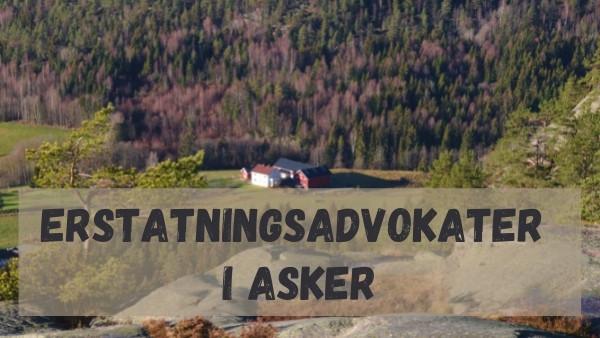 Et bilde av en gård i Asker